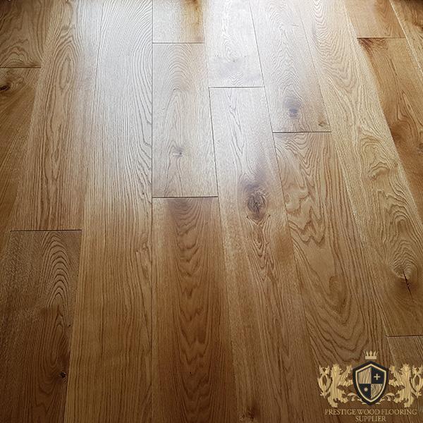 180mm Unfinished Solid Oak Wide Planks 20mm Thickness Prestige