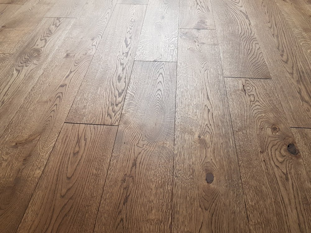140mm Euro Oak Rustic Unfinished Plank 15mm Thickness photo review