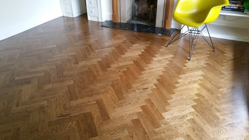 400x70mm Unfinished Solid Oak Parquet Herringbone Wood Flooring Block 21mm Thickness photo review