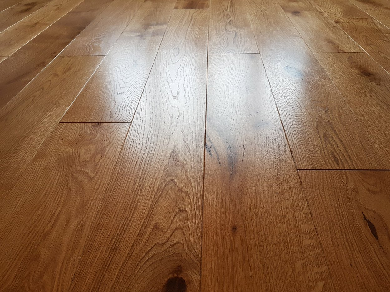 160mm Unfinished Solid Oak Wide Planks 20mm Thickness photo review